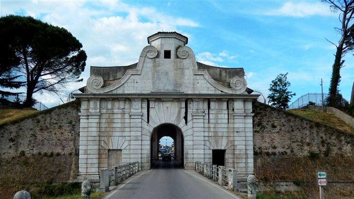 Le tre porte monumentali di Palmanova